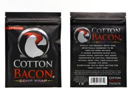 Cotton Bacon Comp Wrap 0,65mm (22AWG) NiCr + K