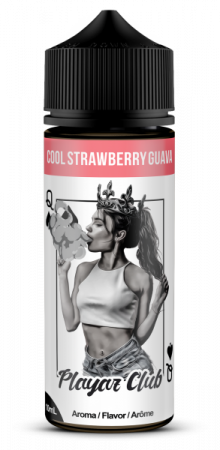 Playaz Club Pik Dame 10ml – Cool Strawberry Guava – Aroma