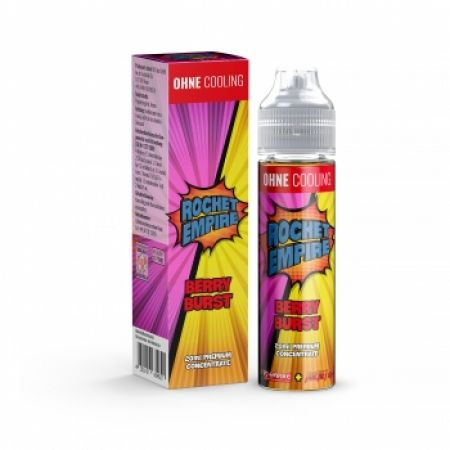 ROCKET EMPIRE Berry Burst Aroma 20ml - Ohne Cooling Longfill 60ml