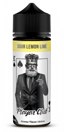 Playaz Club Pik König 10ml – Sour Lemon Lime – Aroma