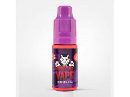 Vampire Vape Liquid 10ml Blood Sukka 6mg/ml Nikotin