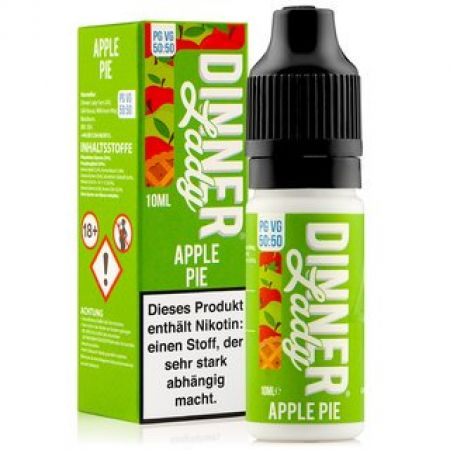 Dinner Lady Apple Pie 3mg/ml Nikotin 50:50 10ml