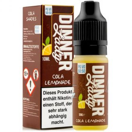 Dinner Lady Cola Lemonade 3mg/ml Nikotin 50:50 10ml