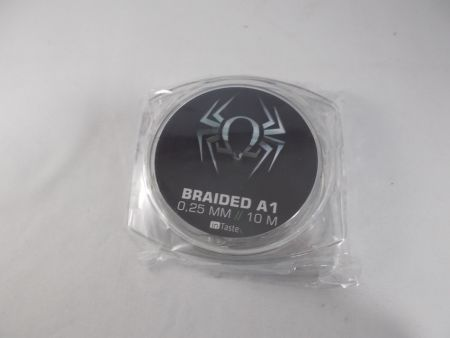 10 Meter Braided Kanthal A1 0,25 mm 9,8 Ohm / M