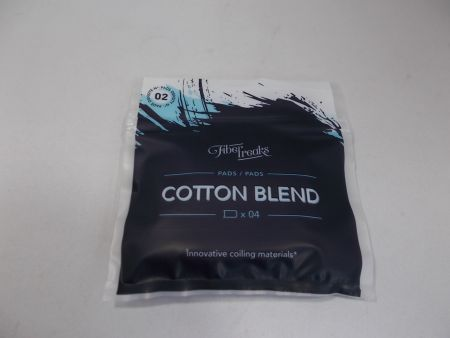 Fiber Freaks Cotton Blend - 4 Pads Density No 2