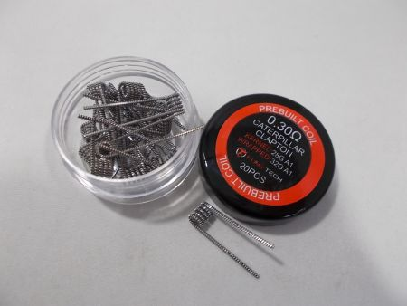 2 Tiger Wire Coil 0,5 Ohm Fumytech K-A1