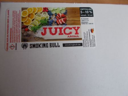 Smoking Bull Juicy Aroma 10 ml