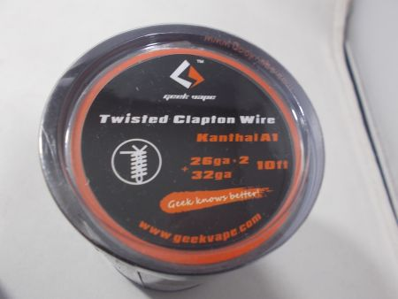 3 m Twisted Clapton Coil 2x 0,40 & 0,20 (26/32GA) GeekVape KTH