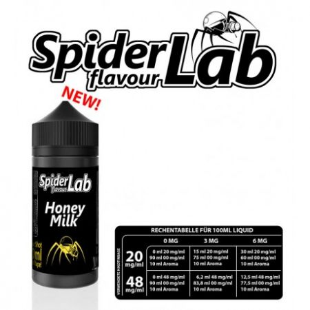 Honey Milk Spider Lab 10ml MHD 1/21