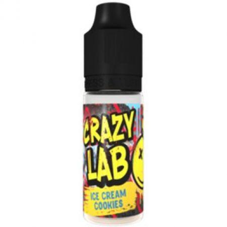 Crazy Lab Aroma 10ml Ice Cream Cookies