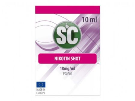 SC 10ml Shot 50PG/50VG 18mg/ml Nikotin