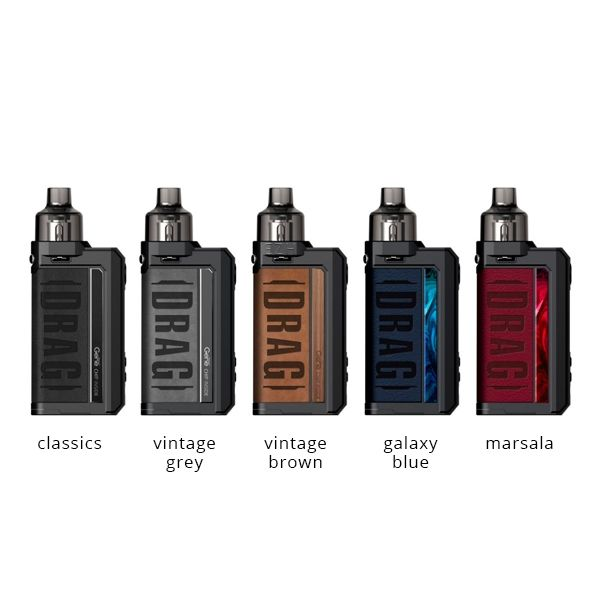 Voopoo Drag Max Pod Kit vintage-grey
