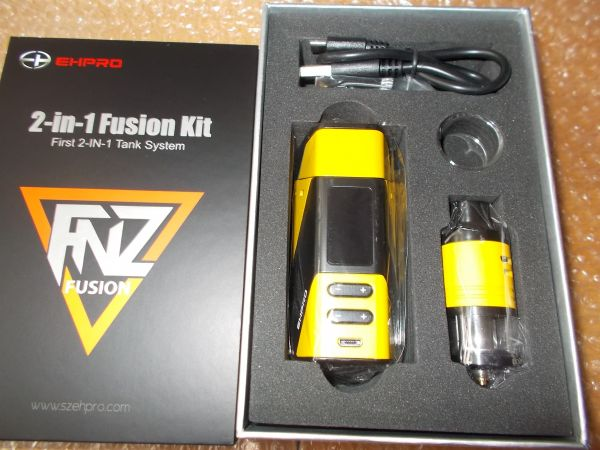 Ehpro Fusion 2 in 1 Kit Gelb